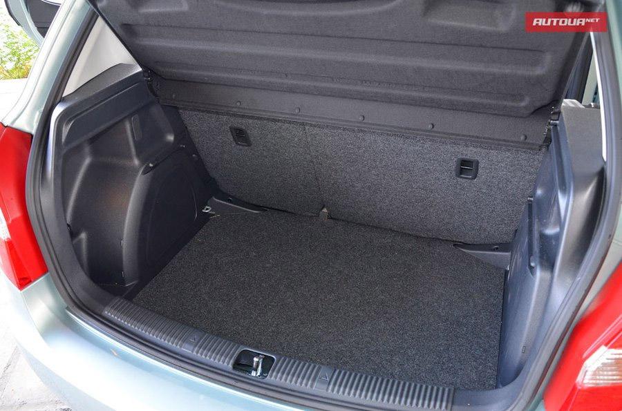 Нова Шкода Фабія багажник