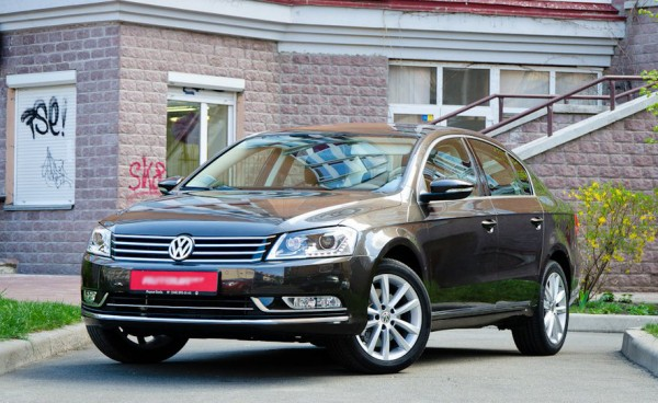 Тест-драйв Volkswagen Passat 2014