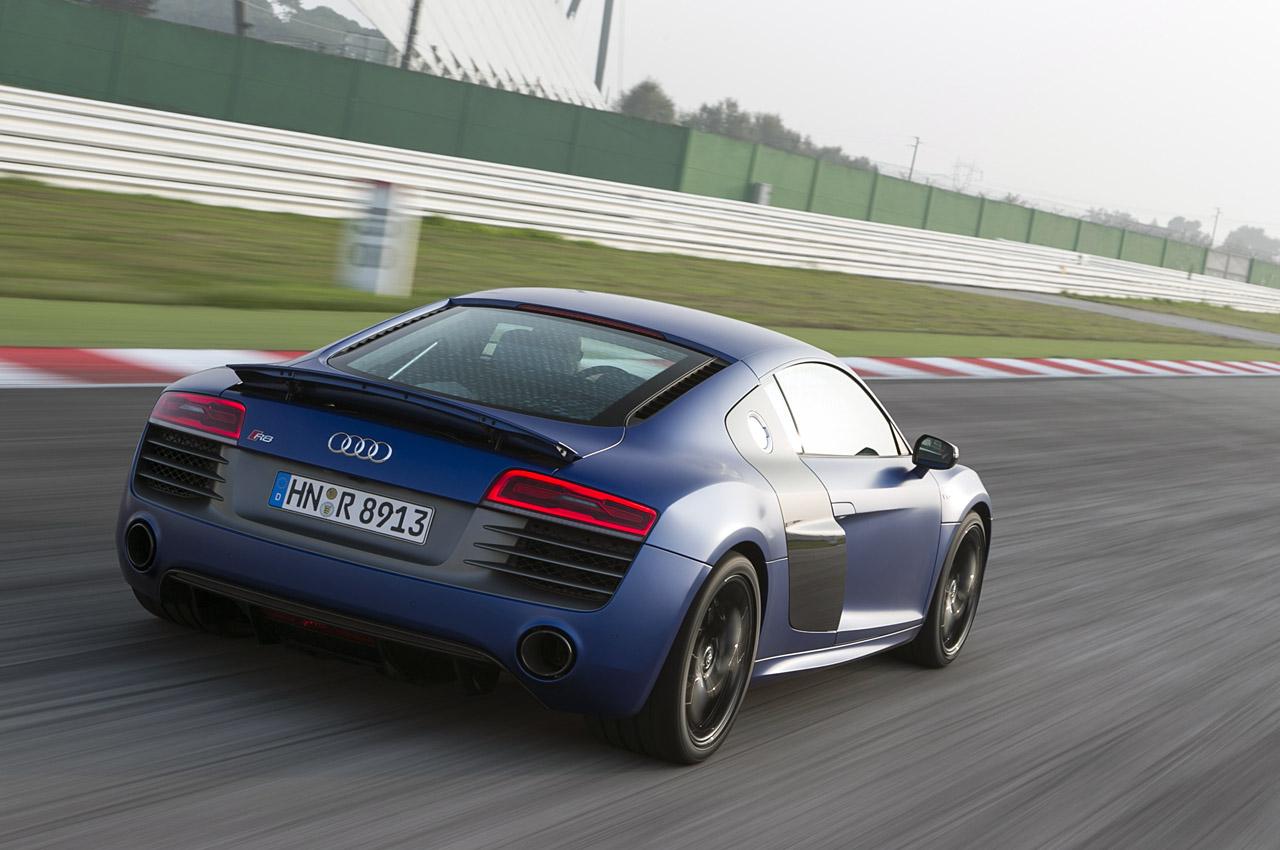 тест Audi R8