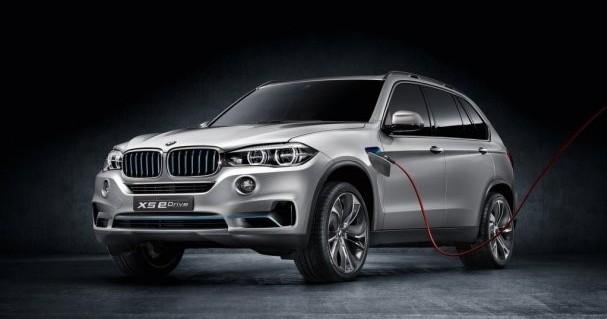 Елктро-позашляховик BMW X5 Edrive