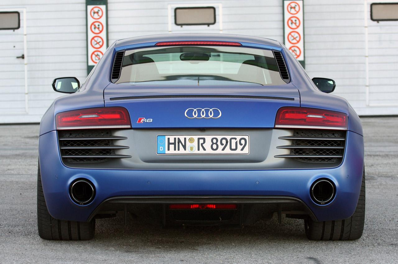 Audi R8 відео