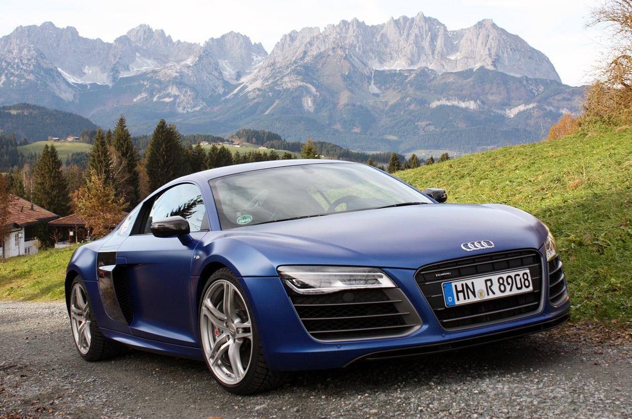 Audi R8 тест