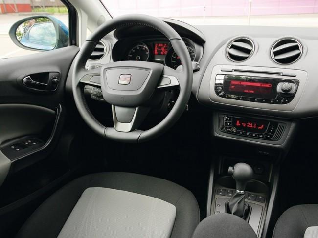 Seat Ibiza інтерєр