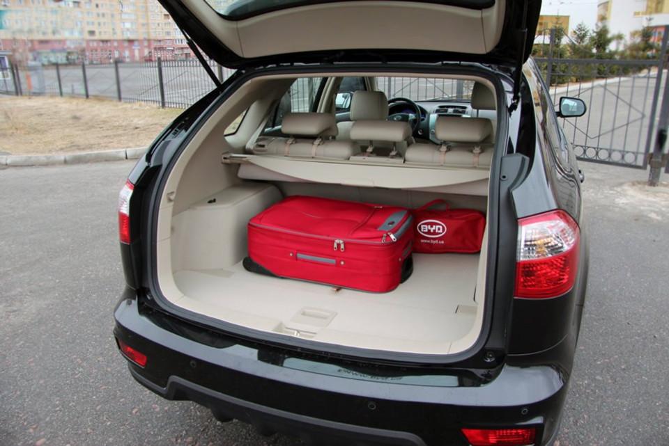 Багажник-BYD S6-фото