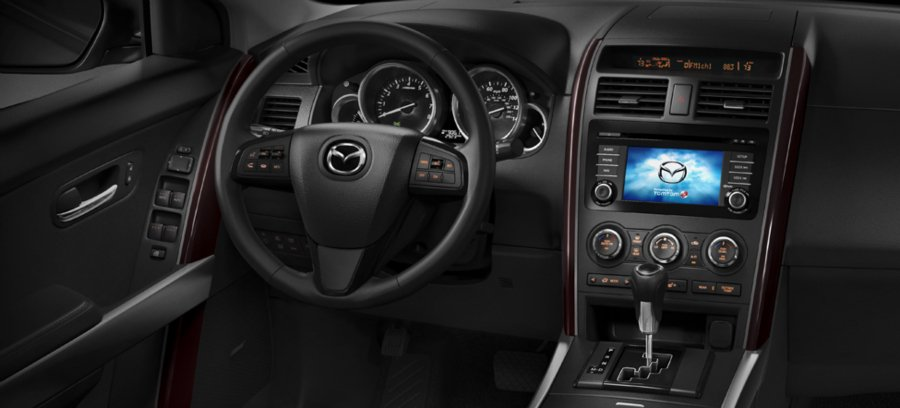 Праладова_панель_Mazda_CX-9_2013_фото
