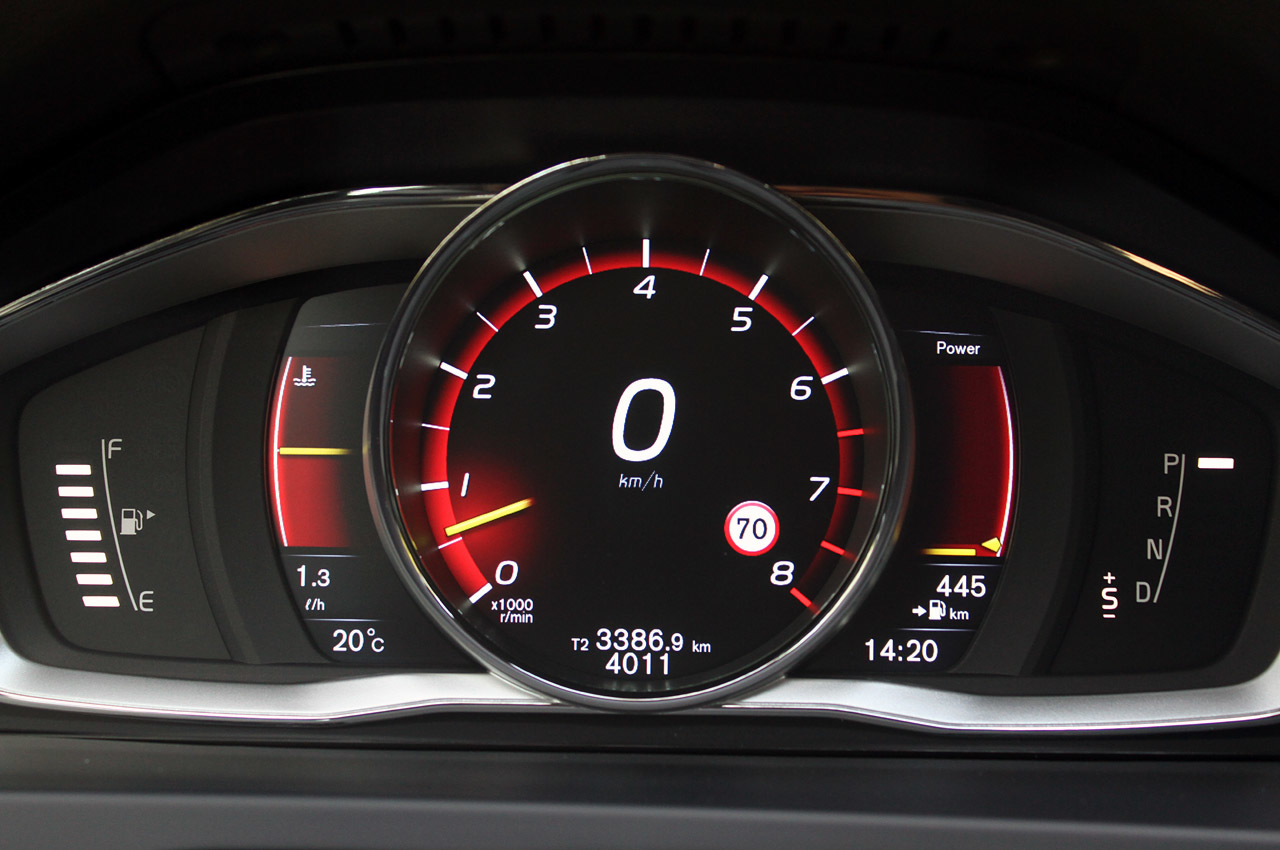 Приладова панель Volvo v60