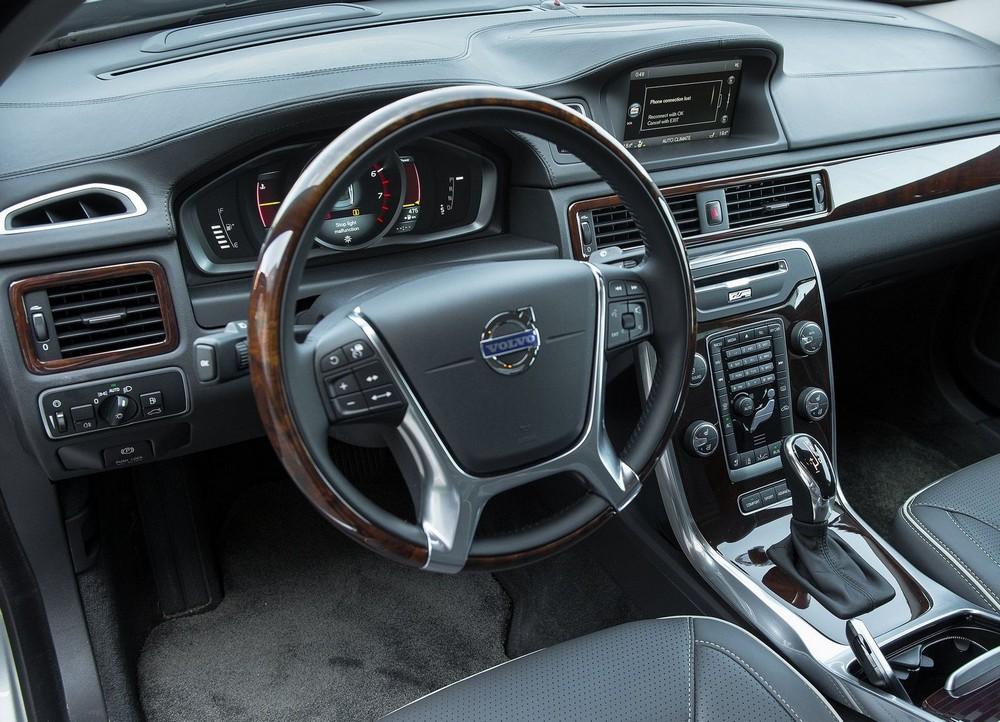 Салон Volvo S80 фото