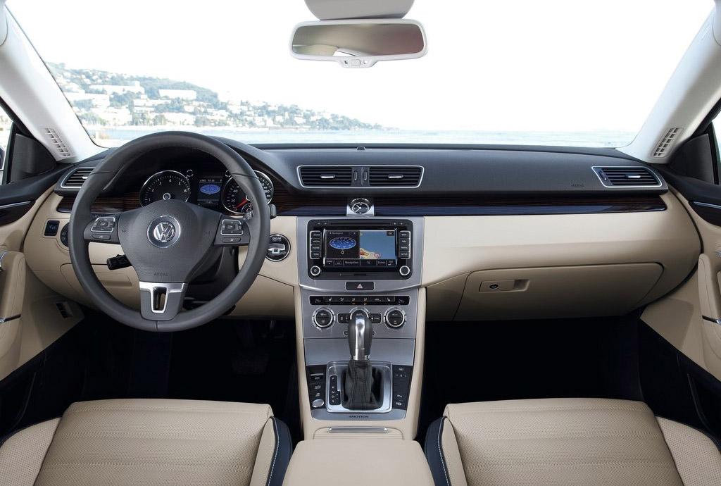 Салон_Volkswagen_CC_фото