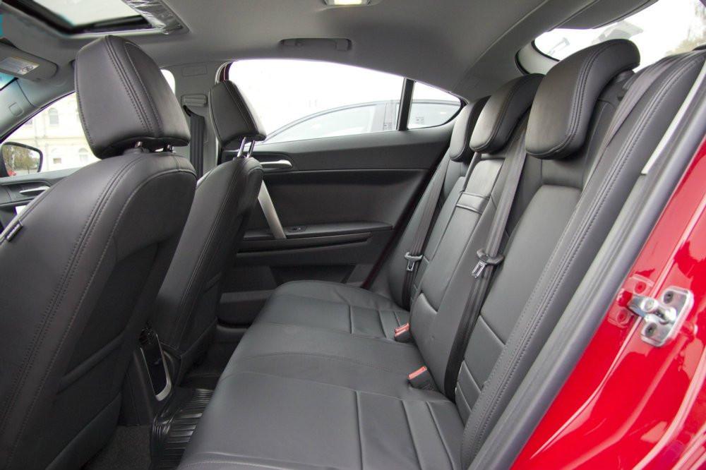 Фото - MG 6 Fast-Back - задні сидіння