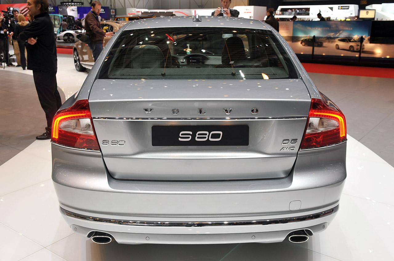 Volvo S80 характеристики