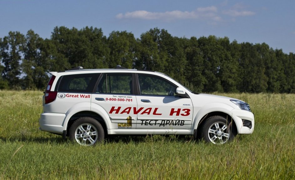 Great Wall Haval H3 фото