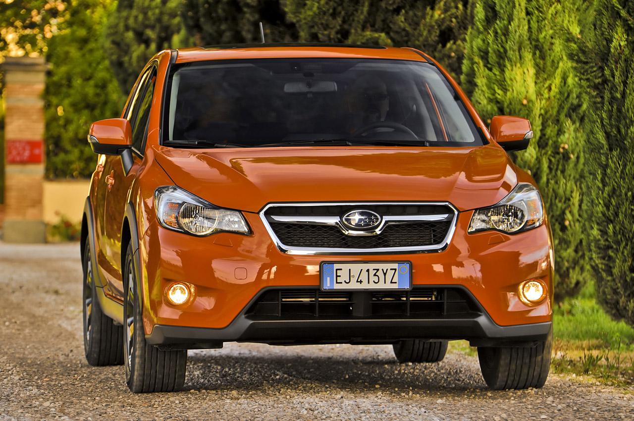 Subaru XV тест-драйв