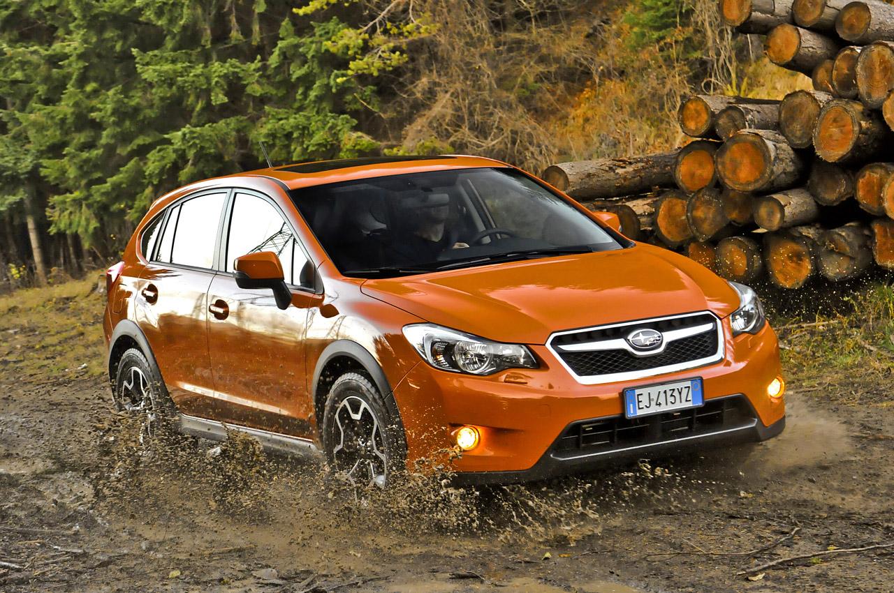 Subaru XV тест 2014