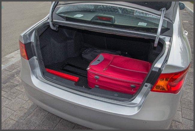 Багажник_MG_350_фото