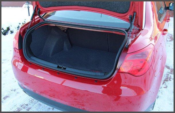 Багажник MG 550 фото