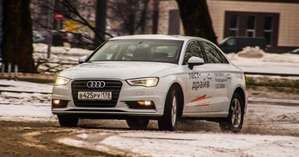 Тест-драйв Audi A3 Sedan 2014