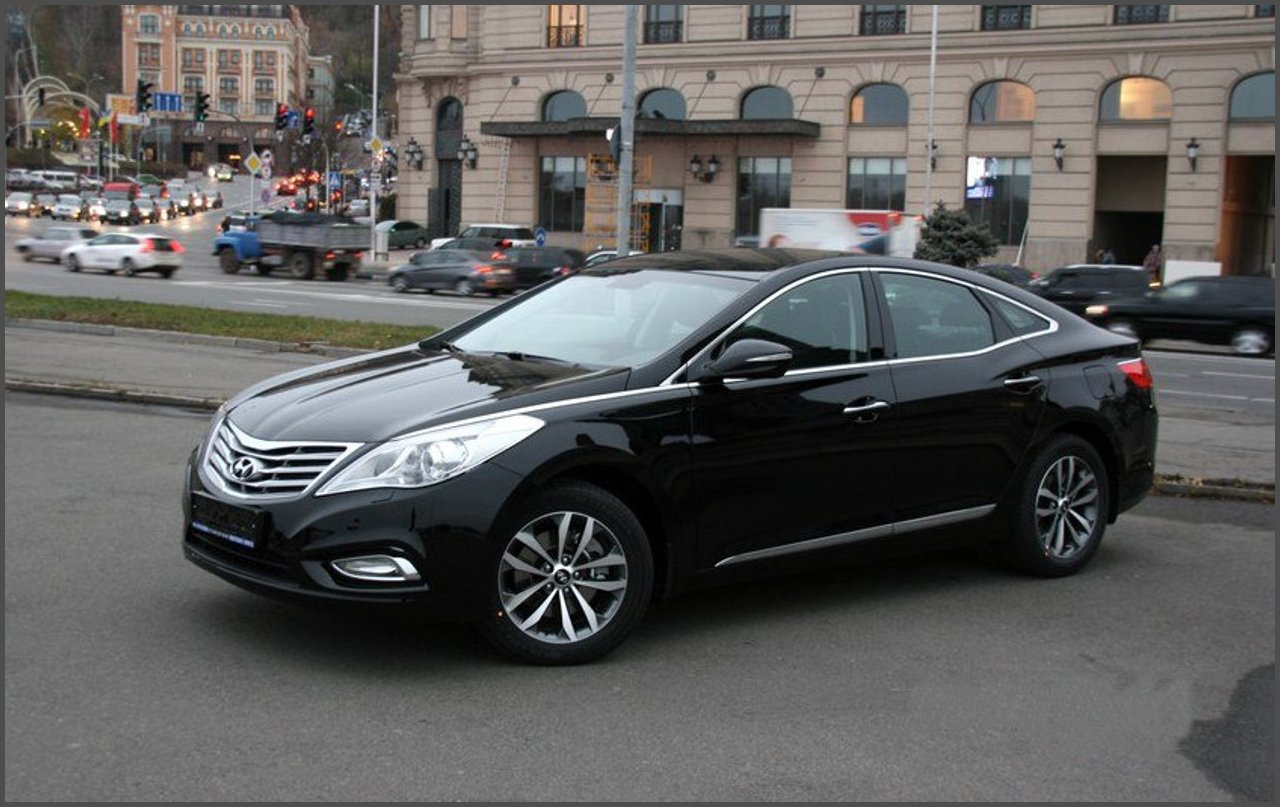 Hyundai Grandeur-фото-2012