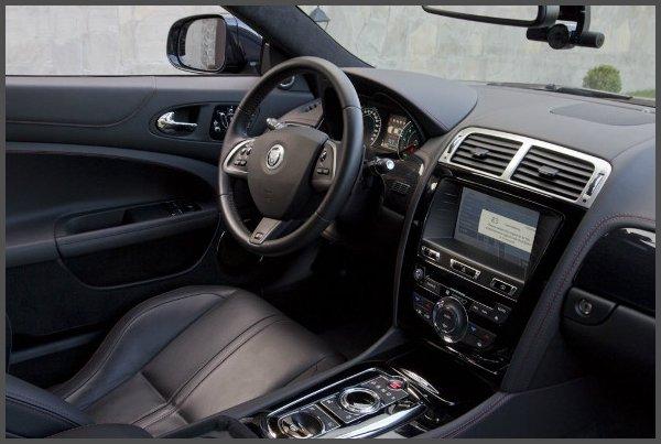 Салон-Jaguar XKR Coupe-фото
