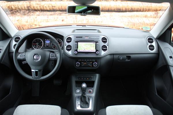 Салон-Volkswagen Tiguan-фото