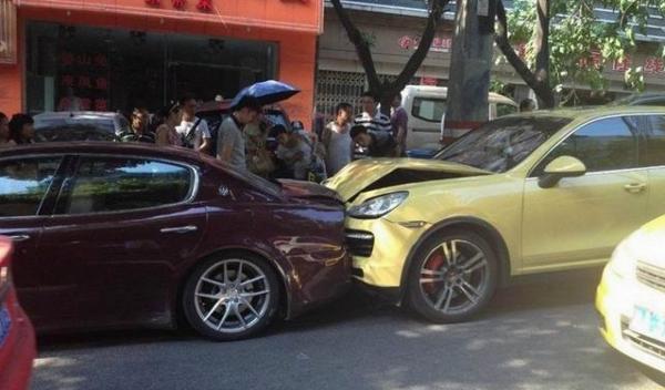 Аварія - авто вїхадо в зад іншої машини