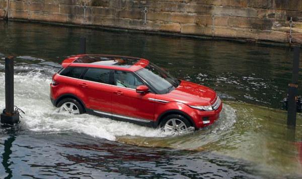 Кросовер - їзда по воді