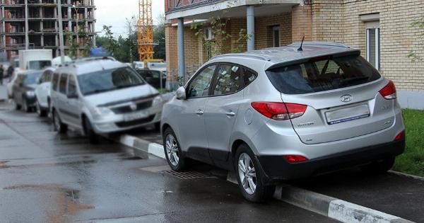 Паркування кросовера