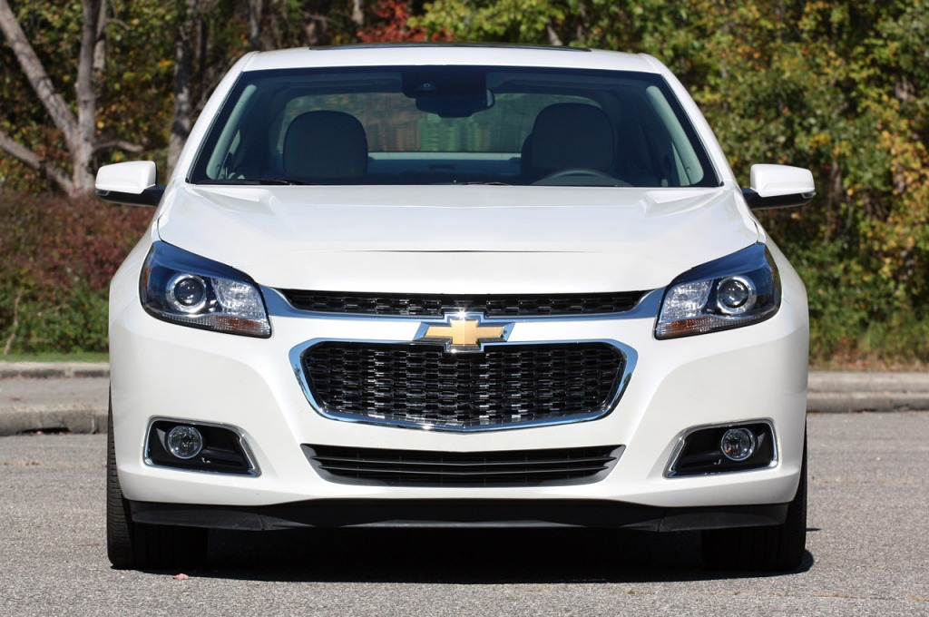 Chevrolet Malibu тест-драйв