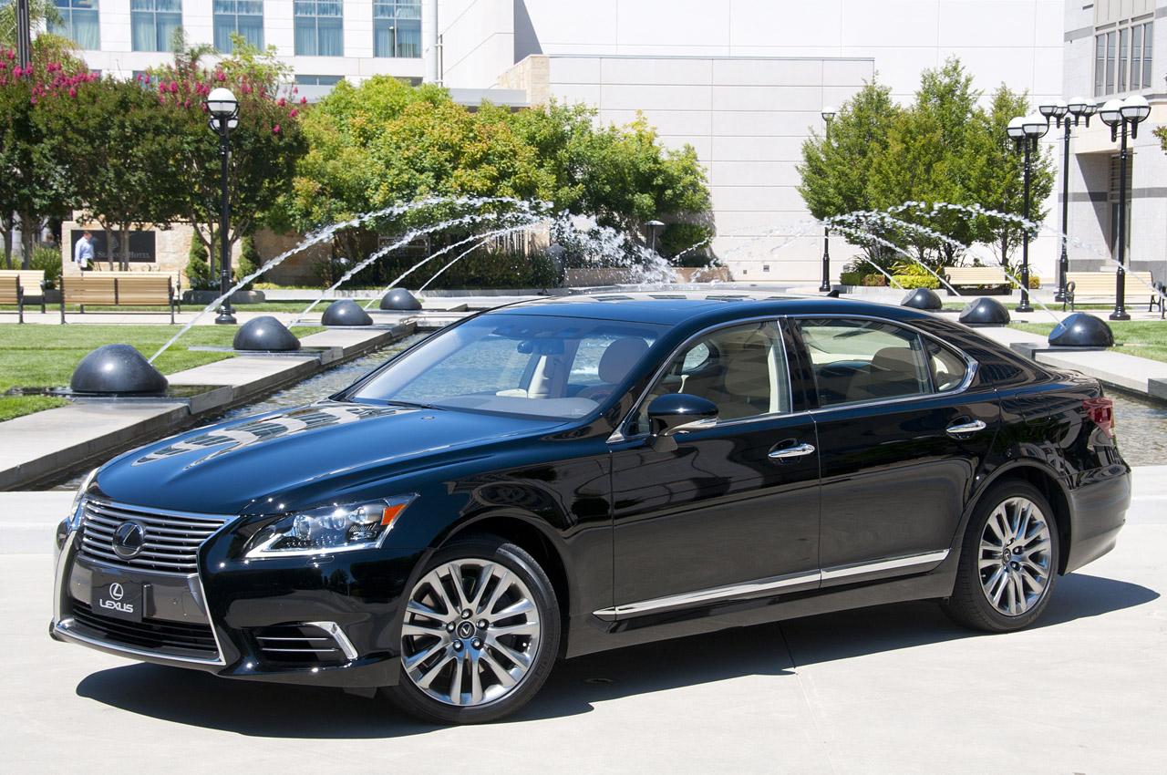 Lexus LS тест-драйв