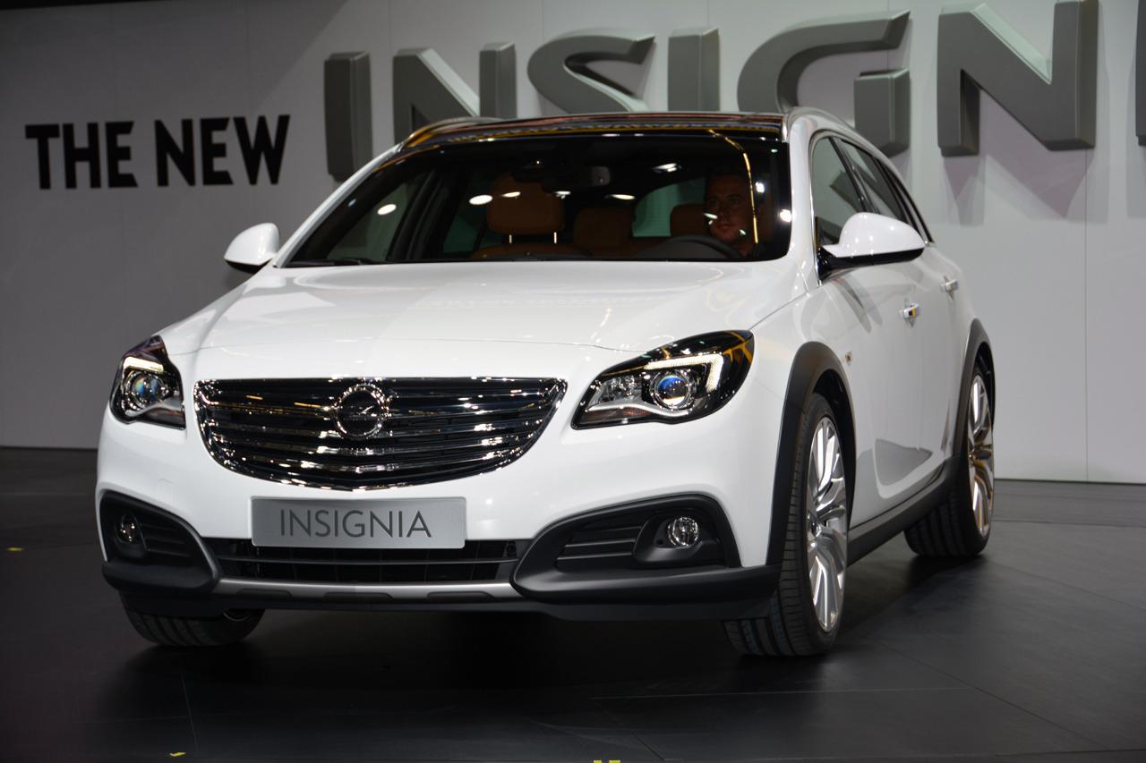 Opel Insignia Country Tourer тест