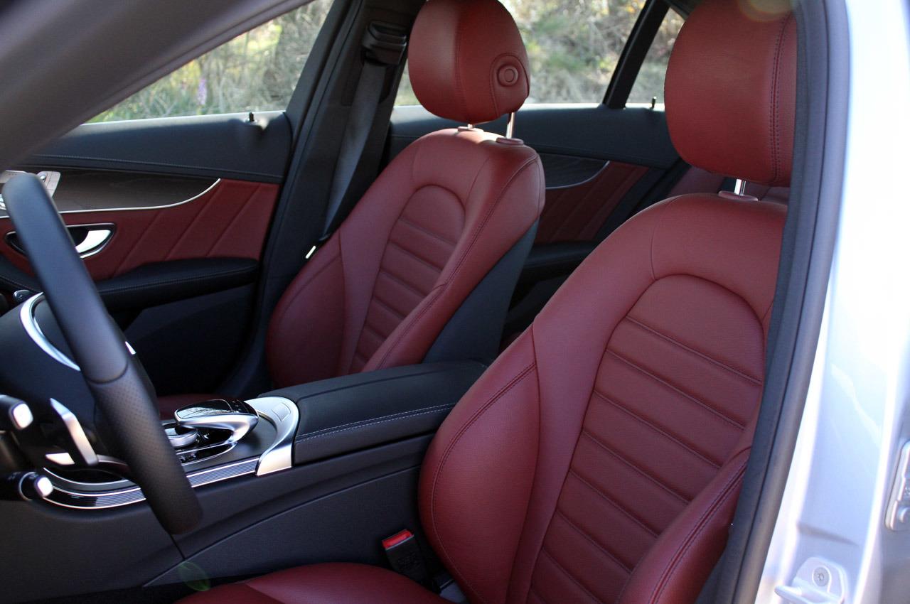 Салон Mercedes C-Class фото
