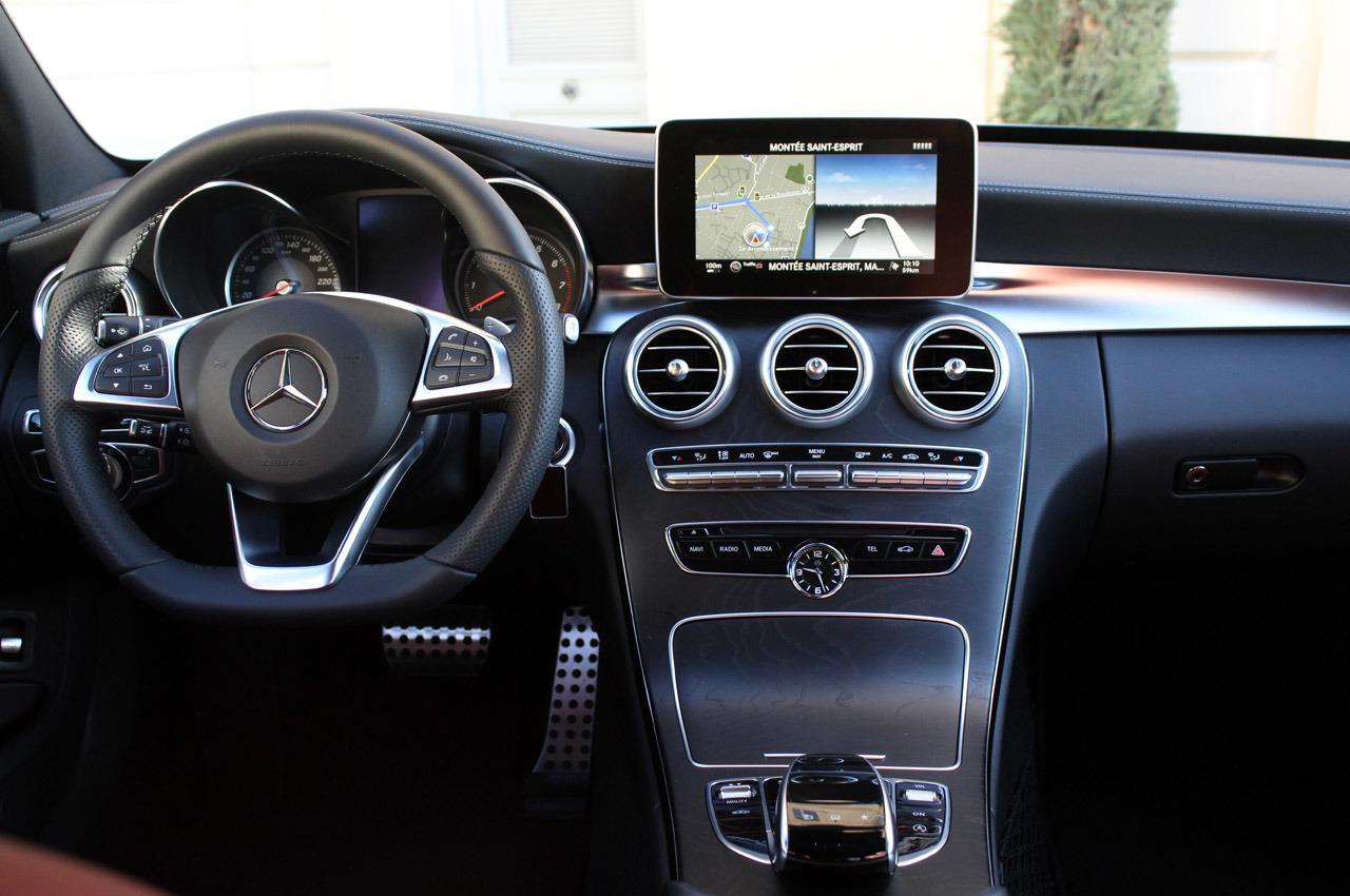 Тест Mercedes C-Class