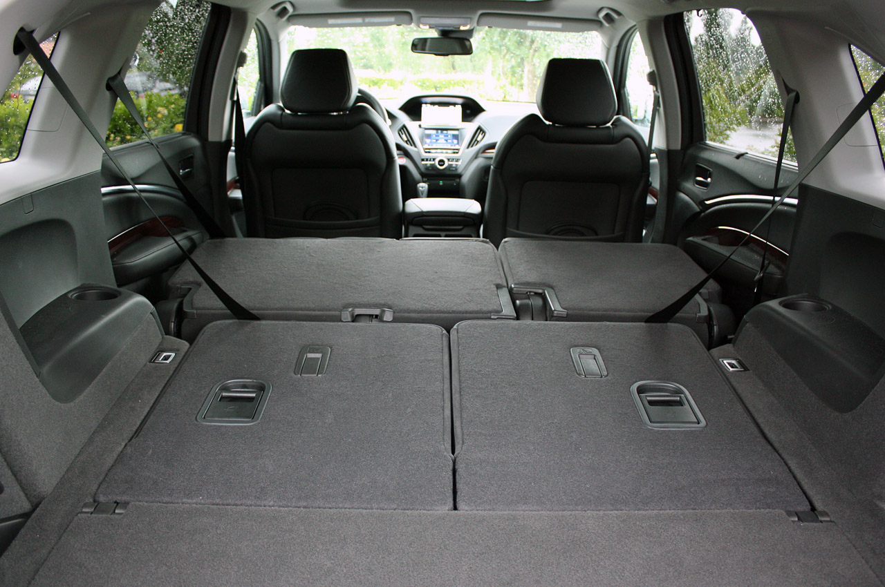 Фото Acura MDX 2014 складенні сидіння