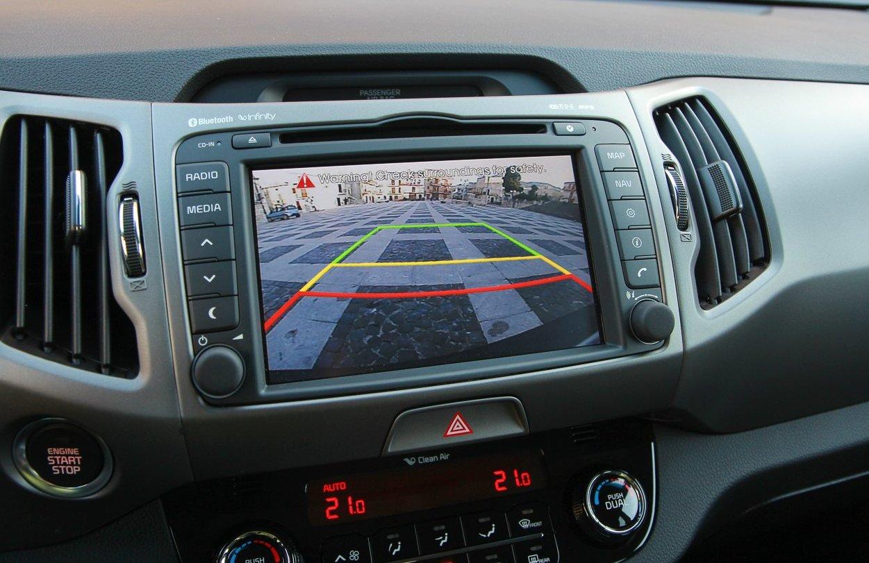 тест-драйв KIA Sportage 2014 - навігаційна система