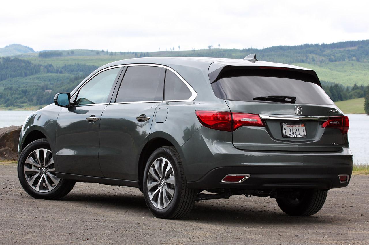 Acura MDX 2014 технічні характеристики