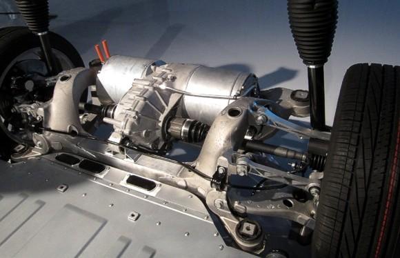 Електричний двигун в автомобілі