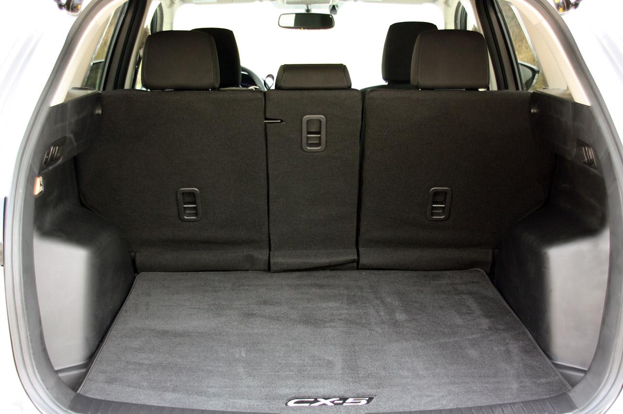 Мазда ЦХ-5 багажник