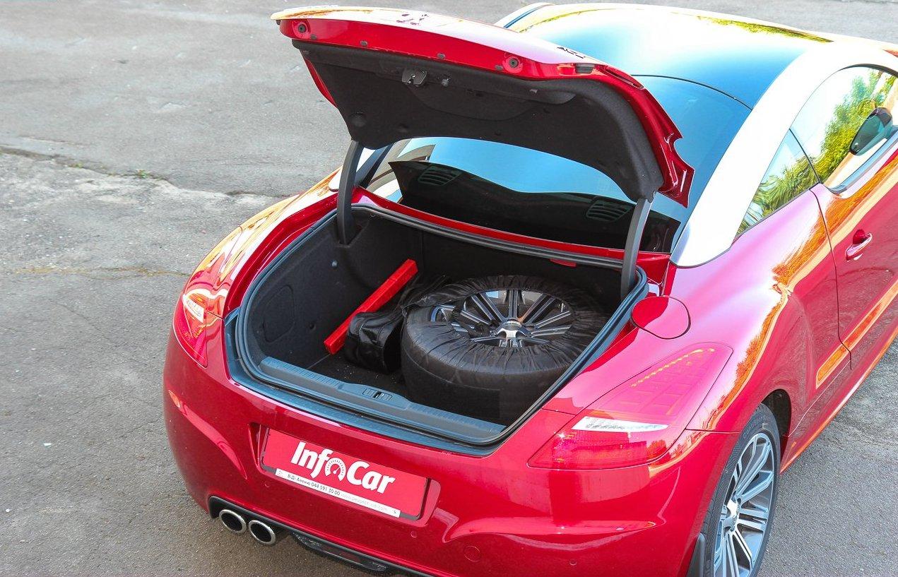 багажник Peugeot RCZ фото