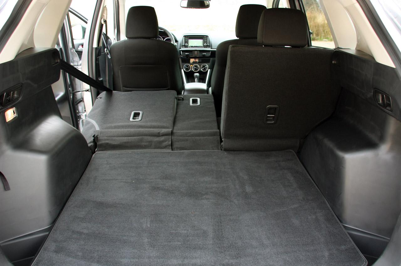 Mazda CX-5 багажник