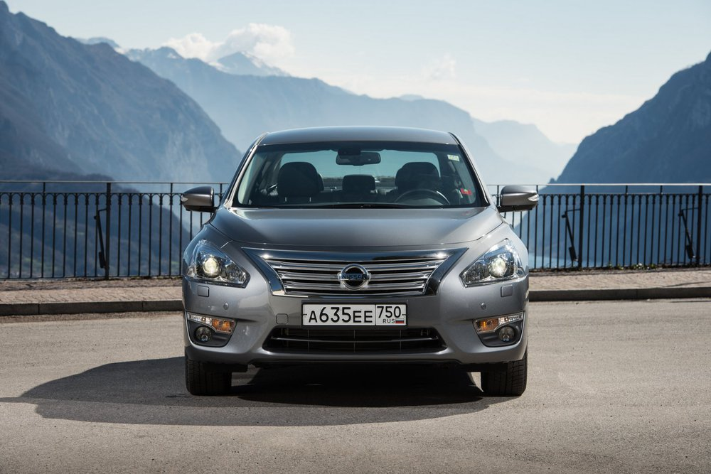 Nissan Teana 2014 тест-драйв