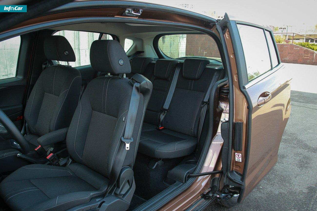 Салон Ford B-Max фото