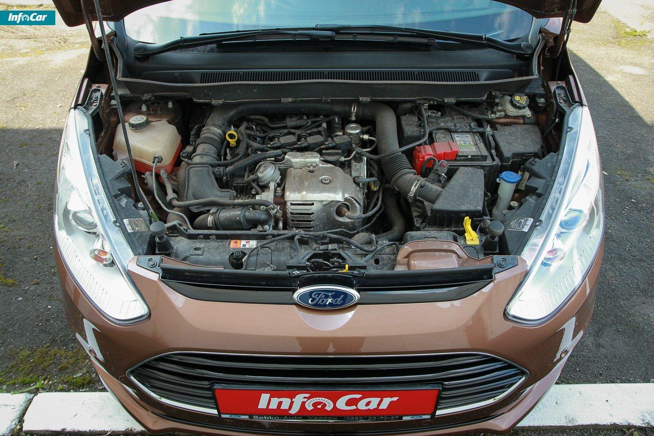 Ford B-Max двигун