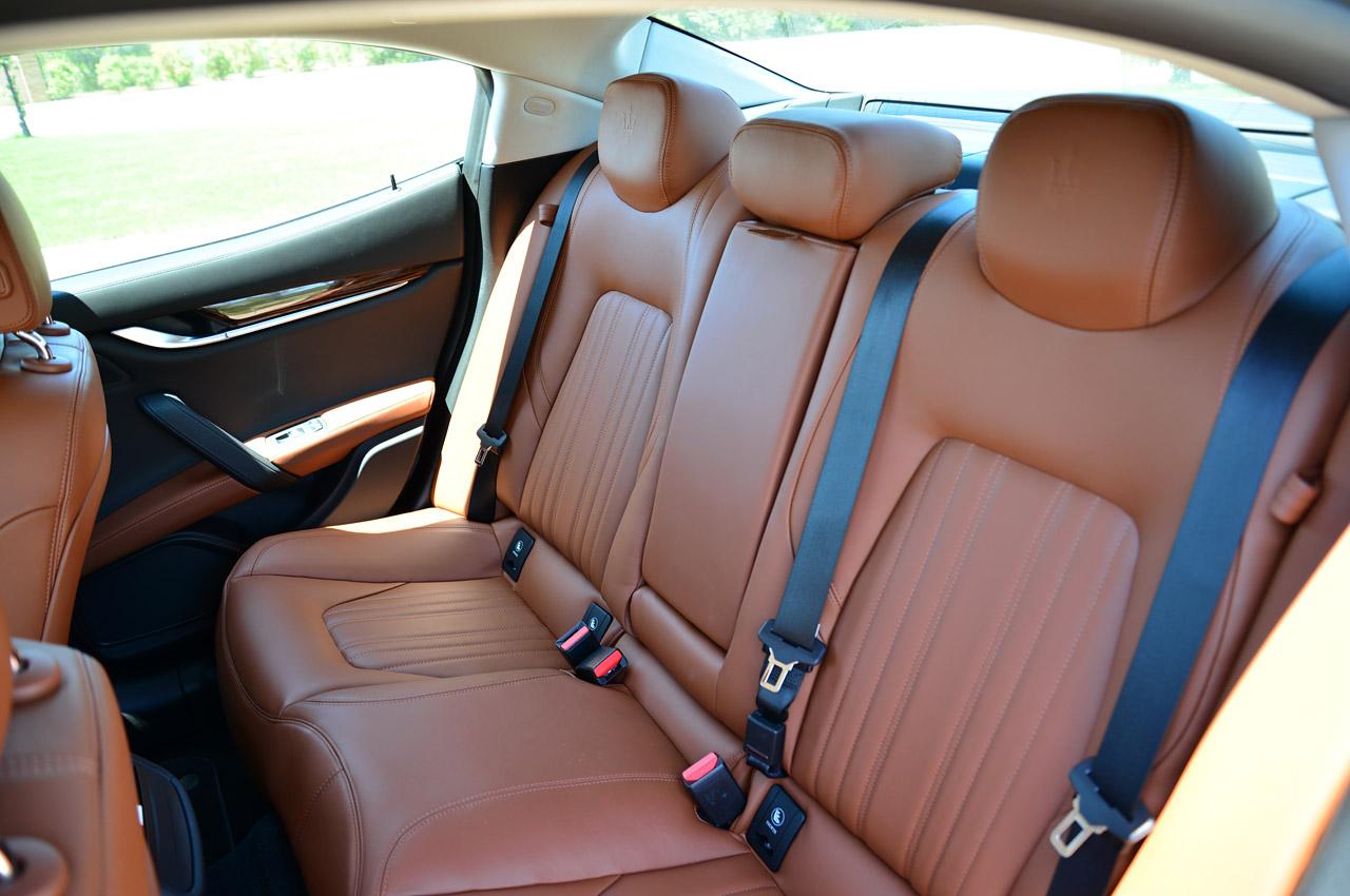 Сидіння Maserati Ghibli