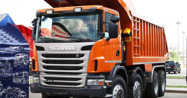 Scania представила новую спецтехнику для России