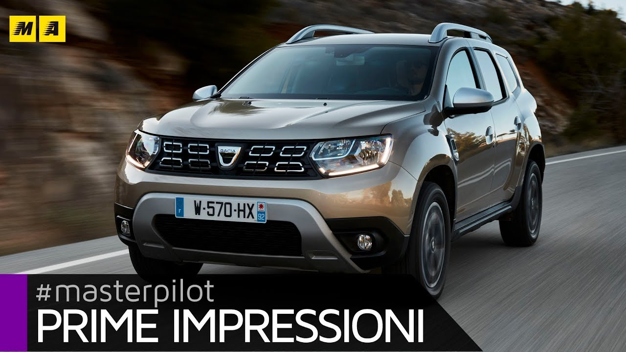 nuova dacia duster 2018 si evolve rimanendo s stessa primo test drive. Black Bedroom Furniture Sets. Home Design Ideas